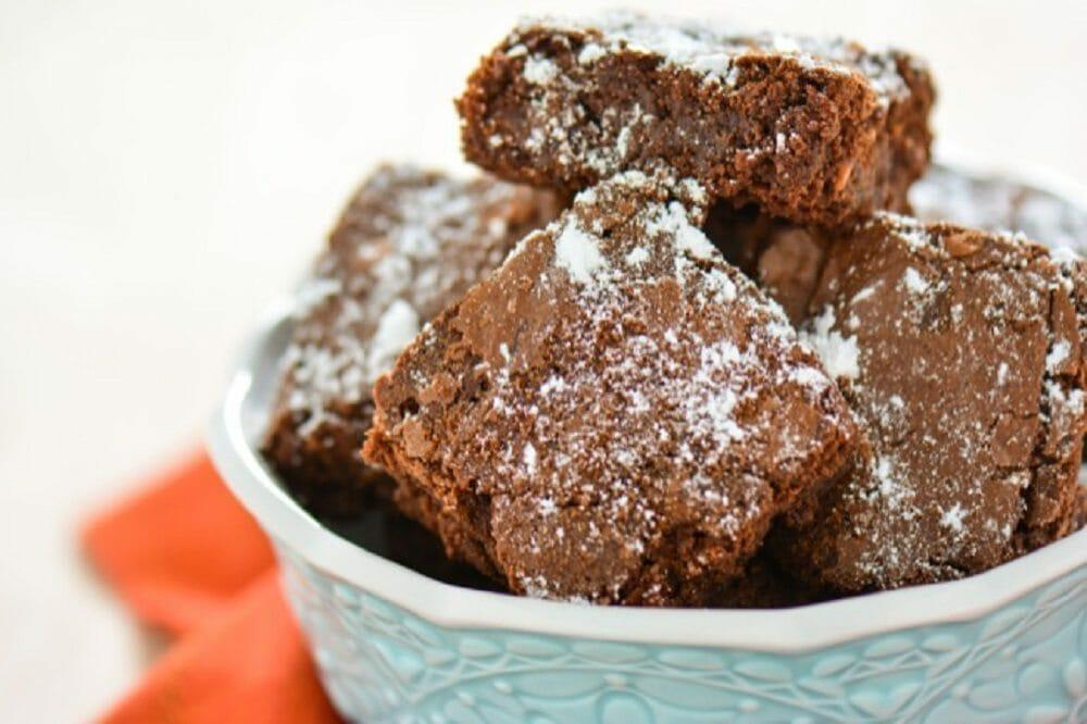 White Chocolate Graham Cracker Brownies