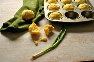 Parmesan & Scallion Popovers