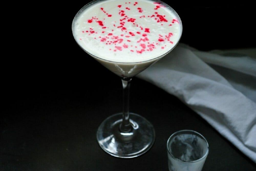 Blood Spatter Martini