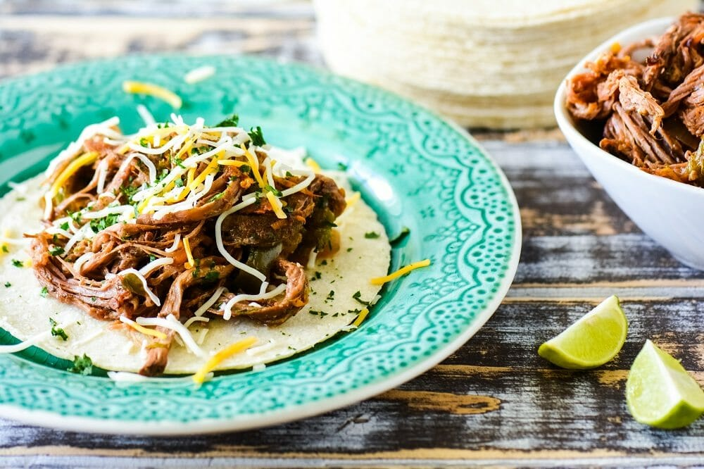 Shredded Lime and Orange Beef Carnitas
