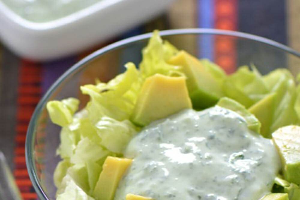 Bibb Lettuce Salad with Herbed Dressing