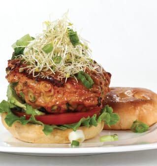 Asian Chicken Burger