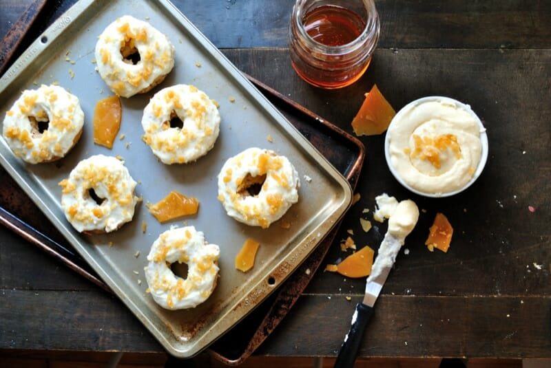 Browned Butter Apple Spice Doughnuts