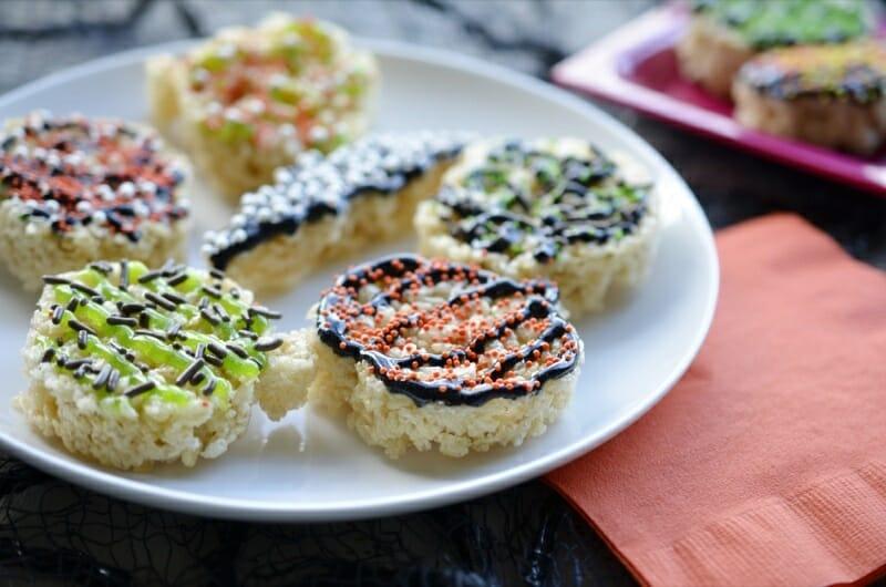 Spooky Rice Treats