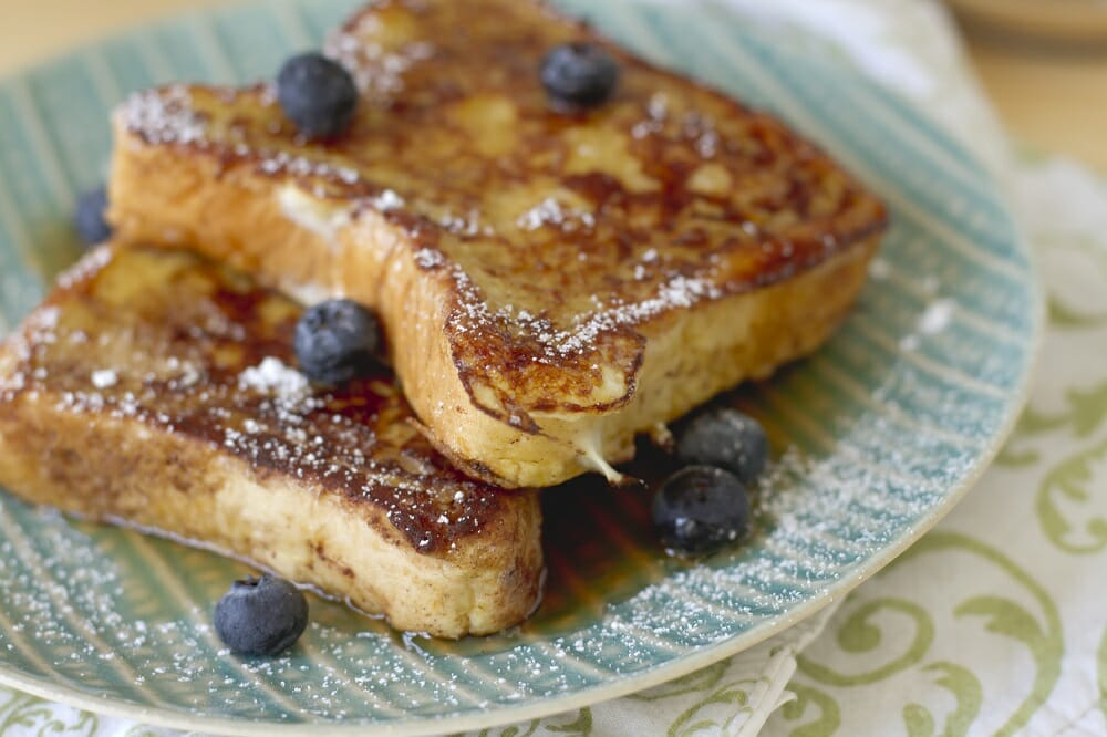 Banana Coconut French Toast