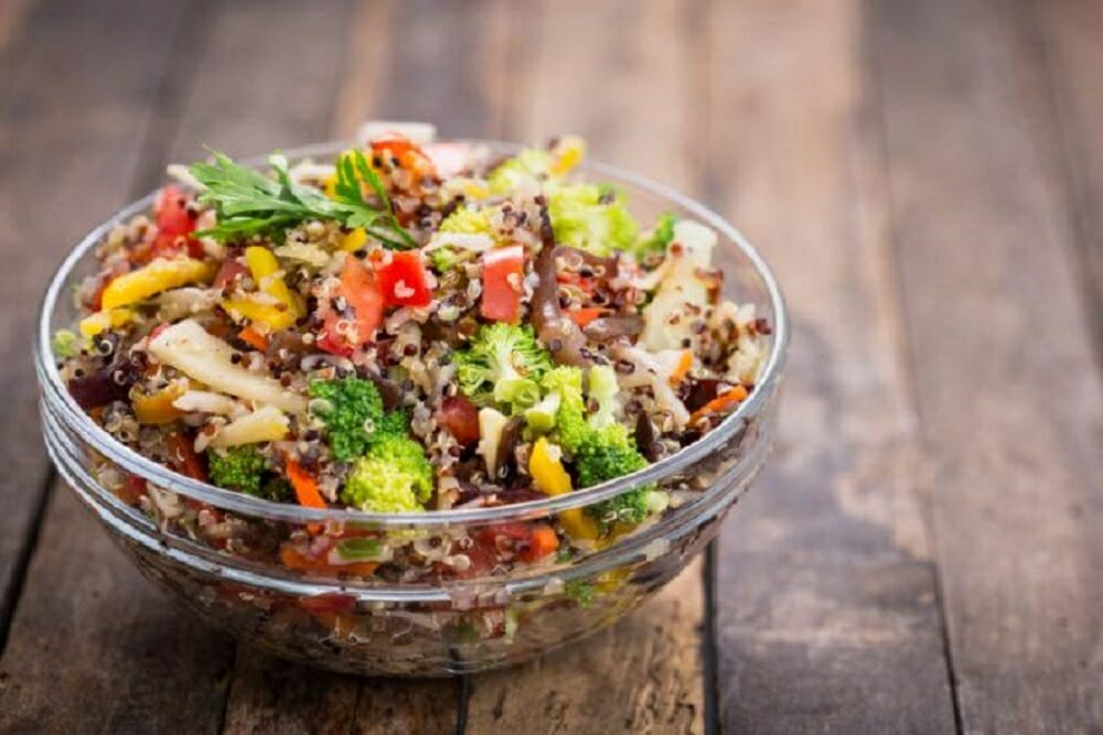 Sweet Orange Quinoa Salad