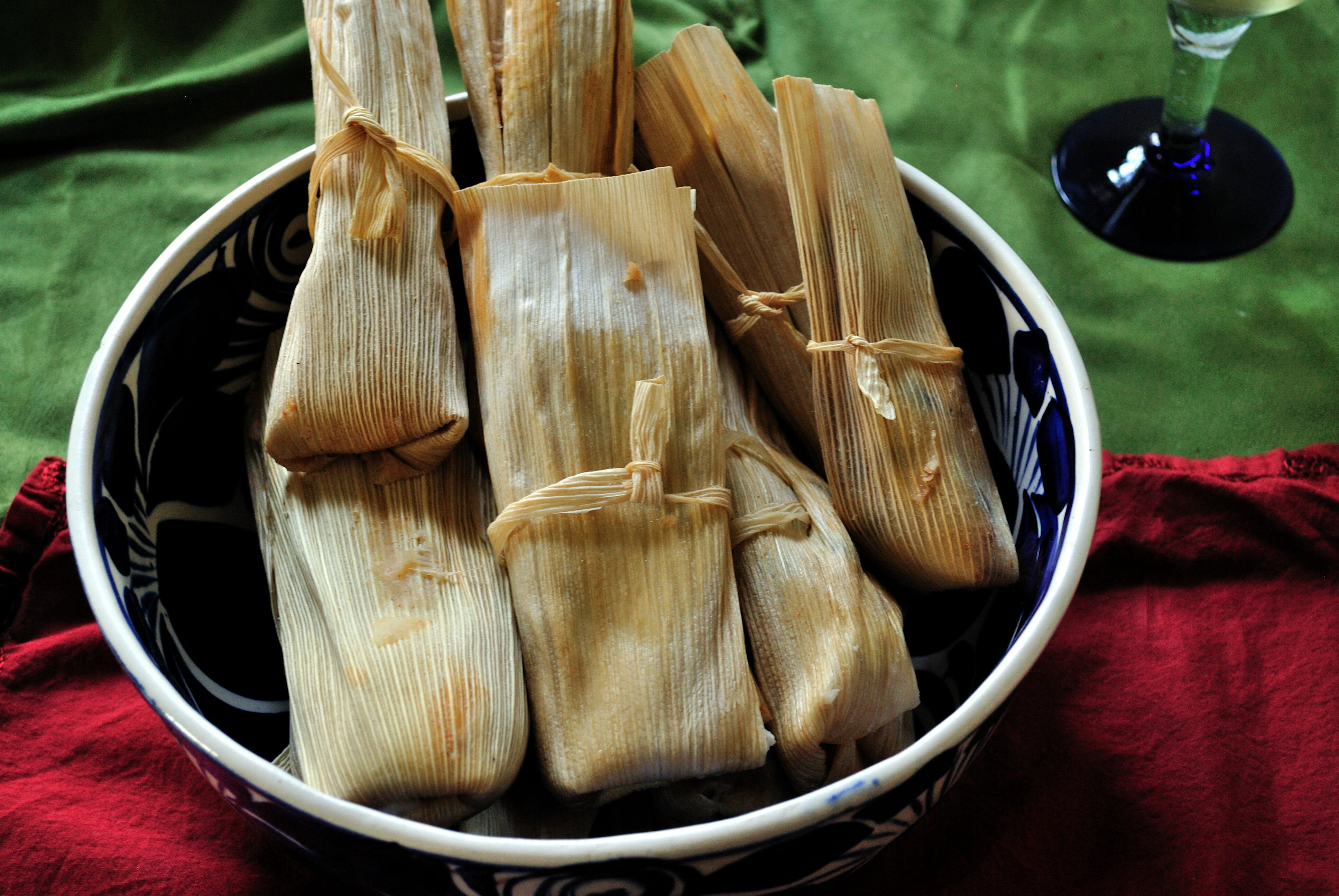 Black Bean & Chihuahua Cheese Tamales