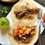 Spiced Bourbon Carnitas Tacos
