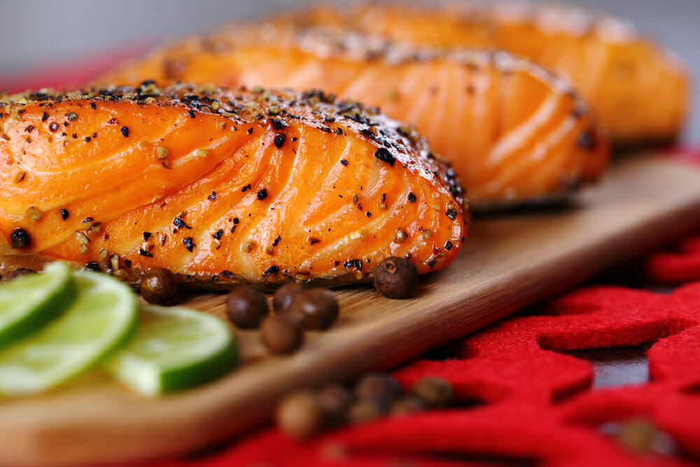 SPICY LIME GRILLED SALMON