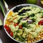 Vegan Mexican Chopped Salad