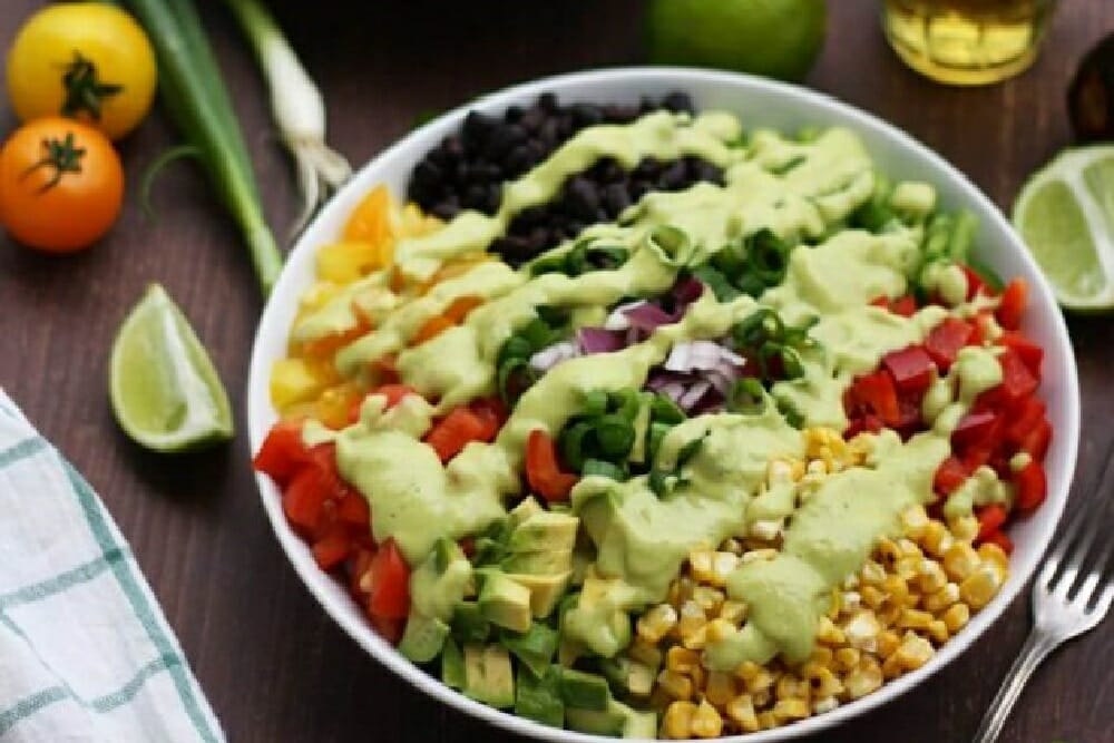 Vegan Mexican Chopped Salad