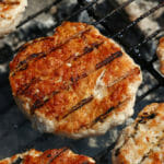 Stubb's Grilled BBQ Turkey Burgers