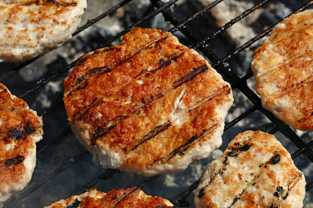 Stubb?s Grilled BBQ Turkey Burgers