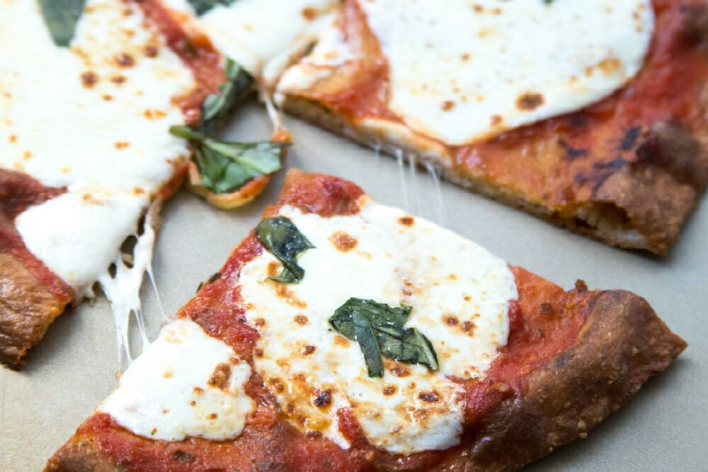 Margherita Pizza With Grain-Free Crust