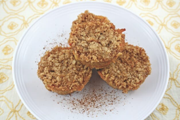 Apple Cobbler Muffins