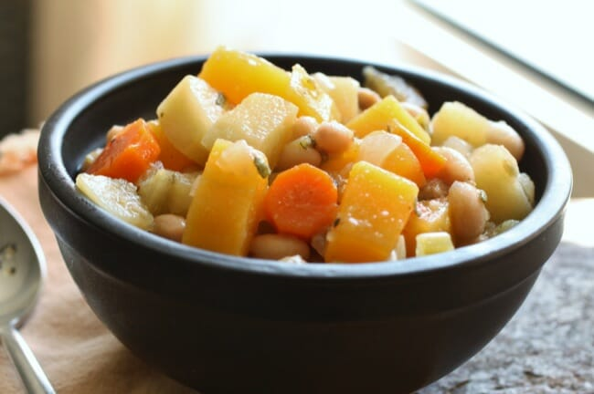 Butternut-Sausage Stew