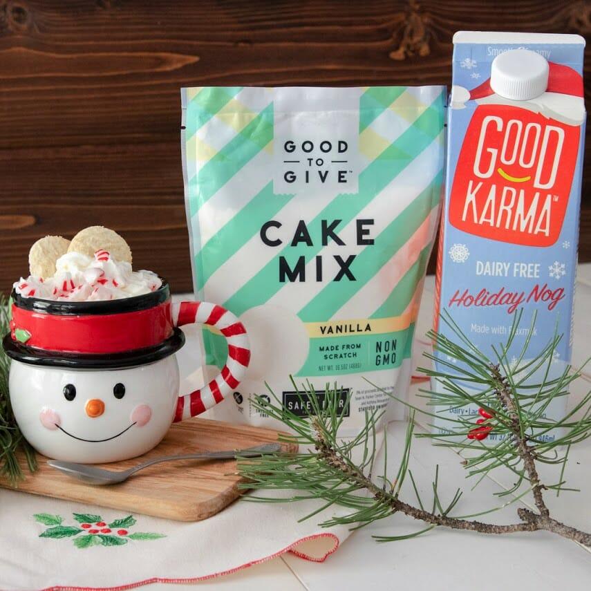 Holiday Mug Cakes