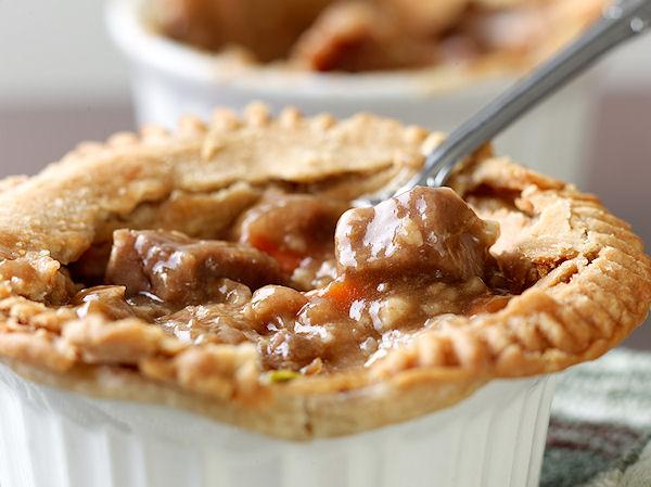 Individual Beef Pies