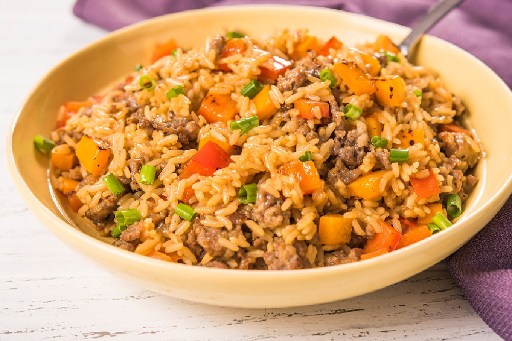 GLUTEN-FREE MARDI GRAS DIRTY RICE