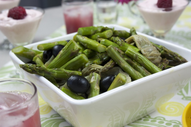Asparagus & Artichoke Salad