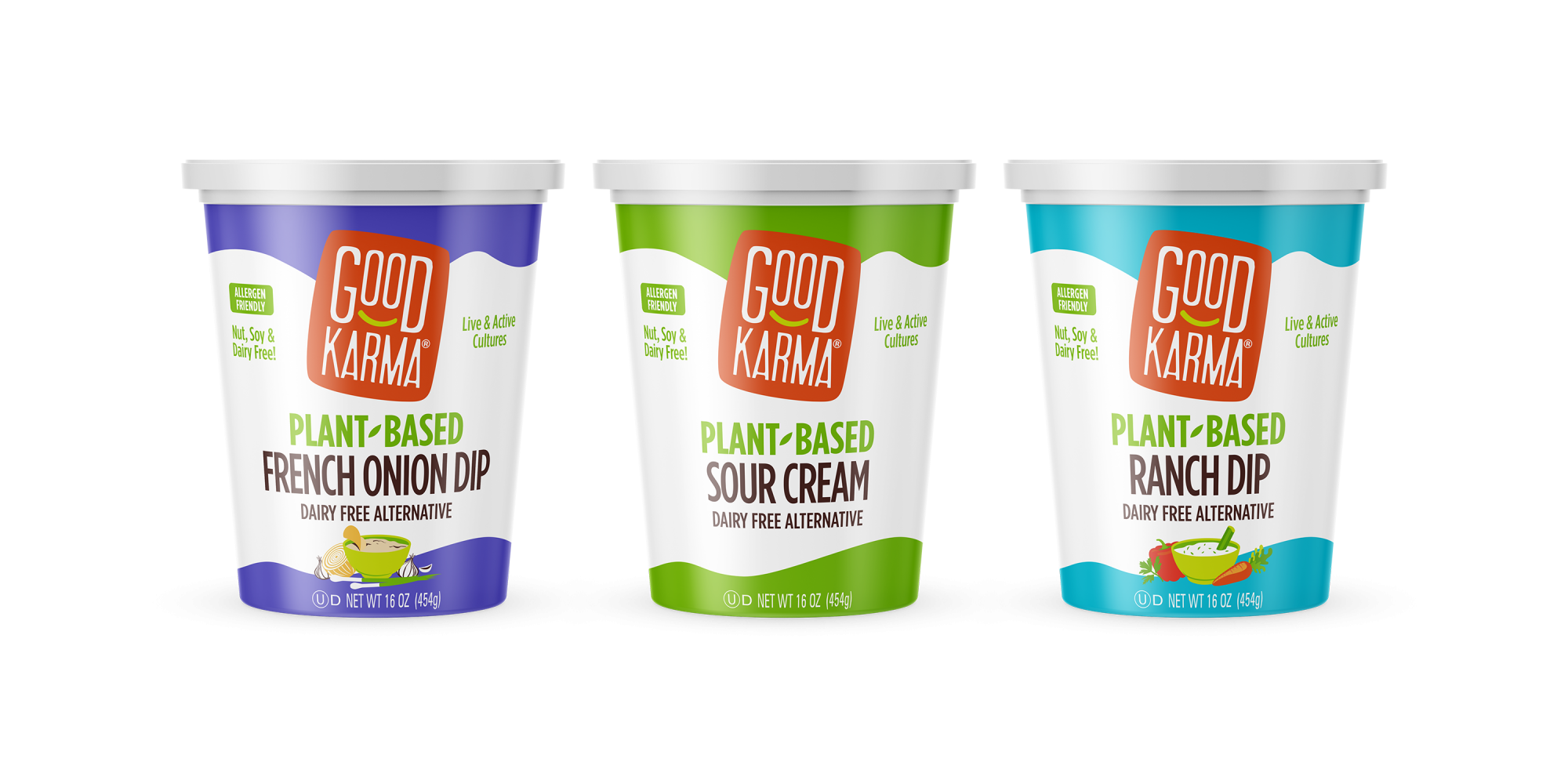Good Karma Plant-Based Sour Cream + Dips