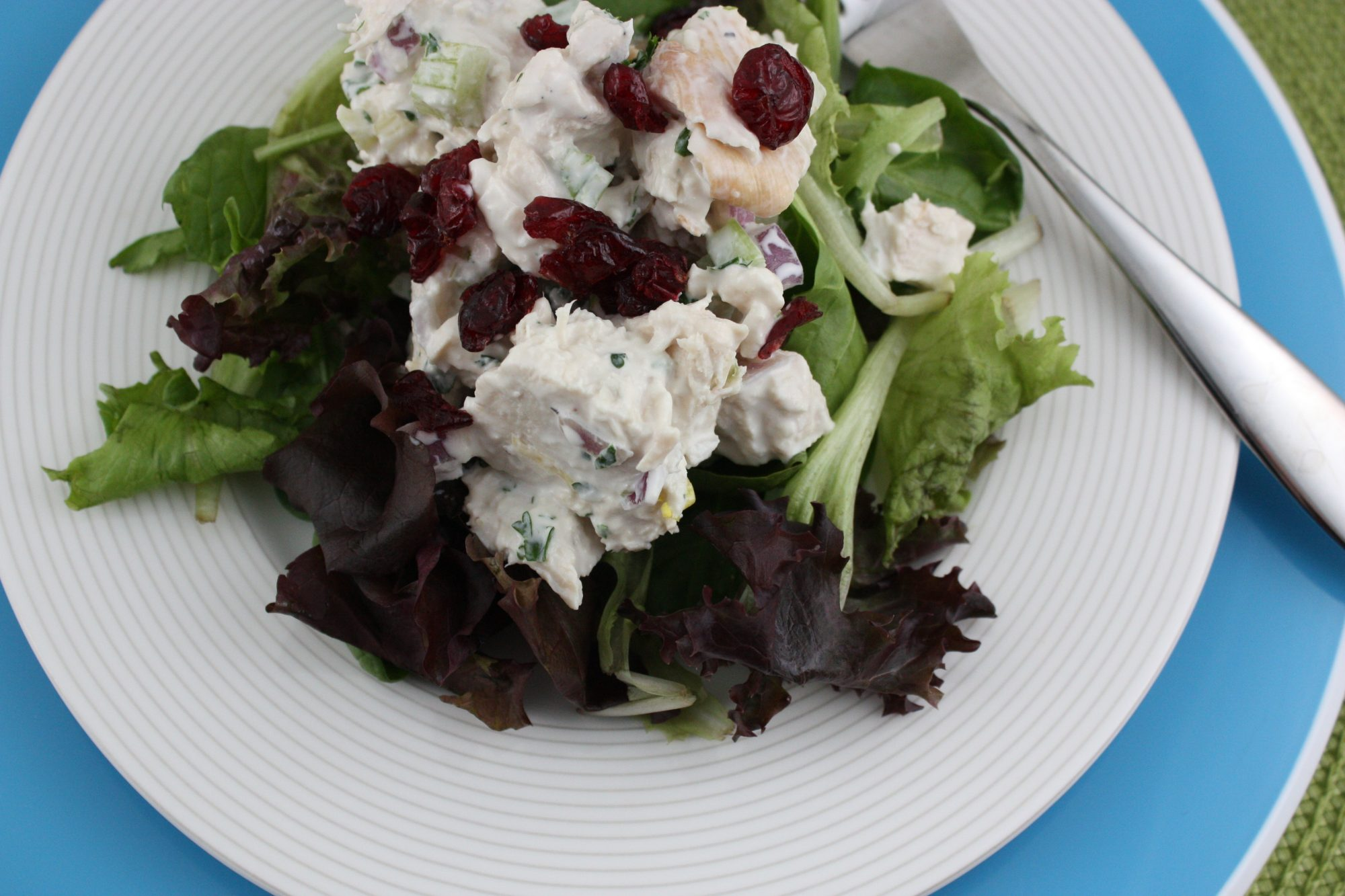 Almond Cranberry Chicken Salad