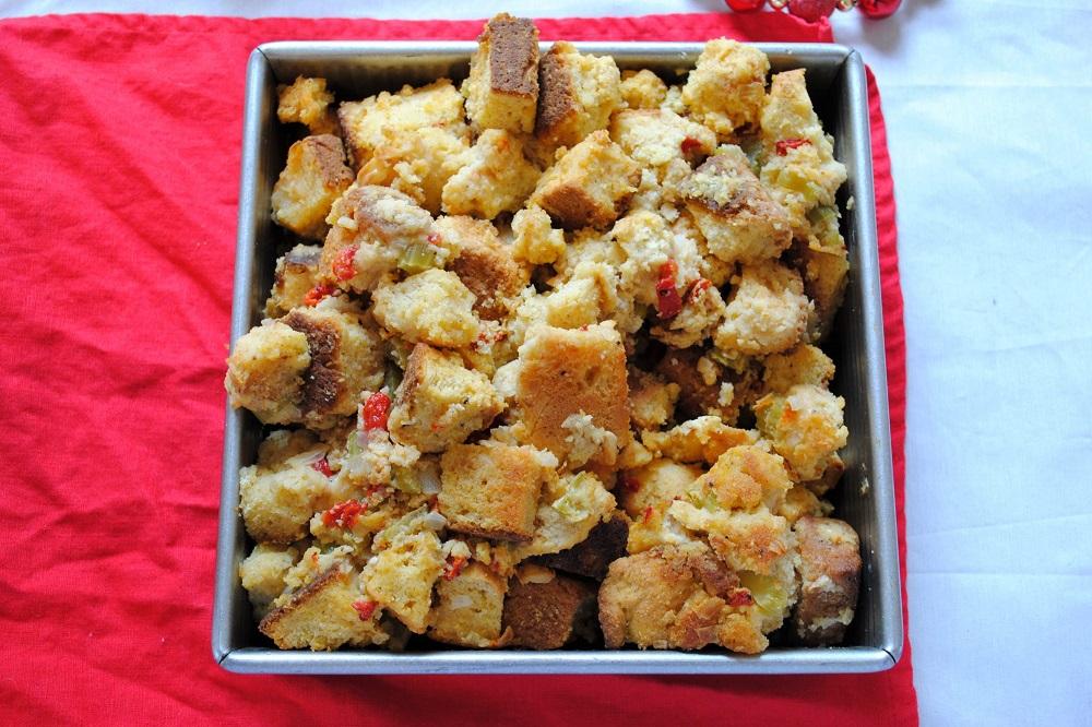 Chive Cornbread Stuffing