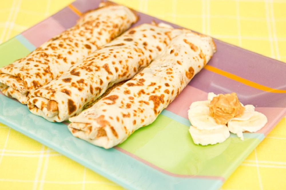 Peanut Butter Banana Rollups