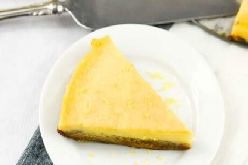 Lemon Tart with Basil Nut Crust