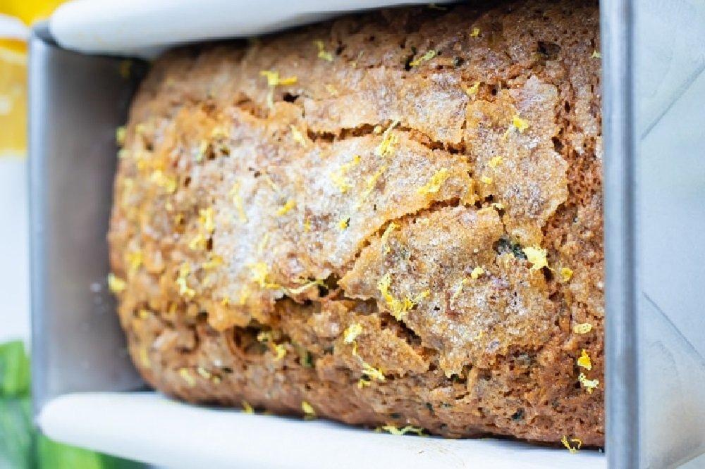 Healthy Lemon Zucchini Bread Recipe