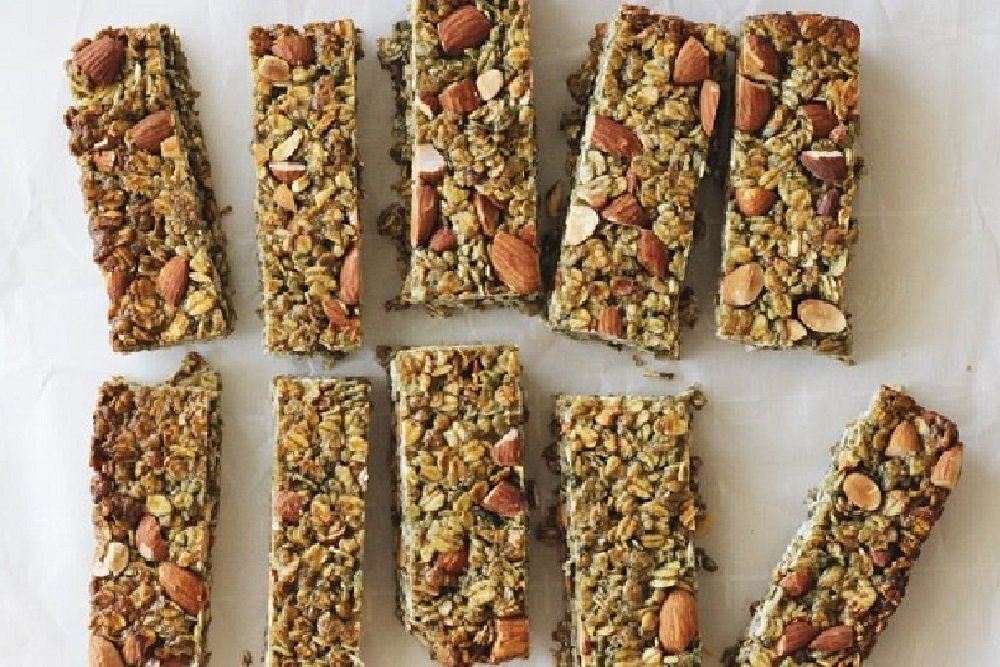 Homemade Chlorella Muesli Bar Recipe