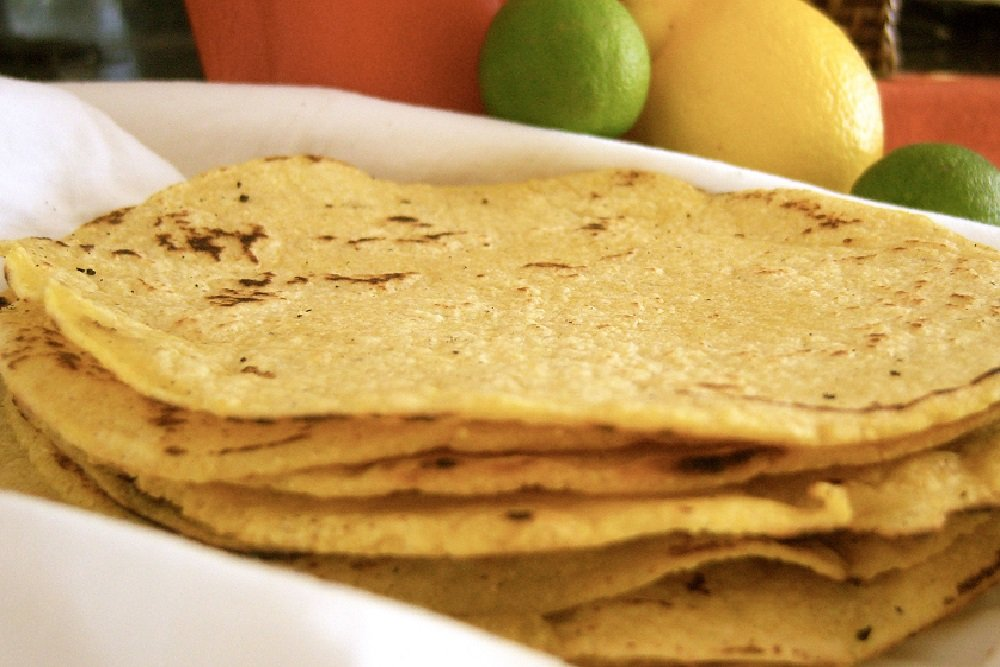 Gluten-Free Corn Tortilla