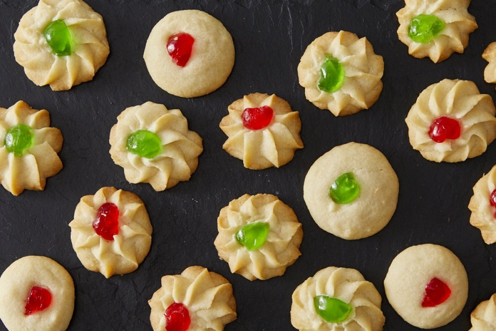Gluten Free Whipped Shortbread Cookies