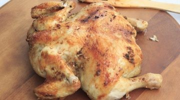 an easy to make roast chicken