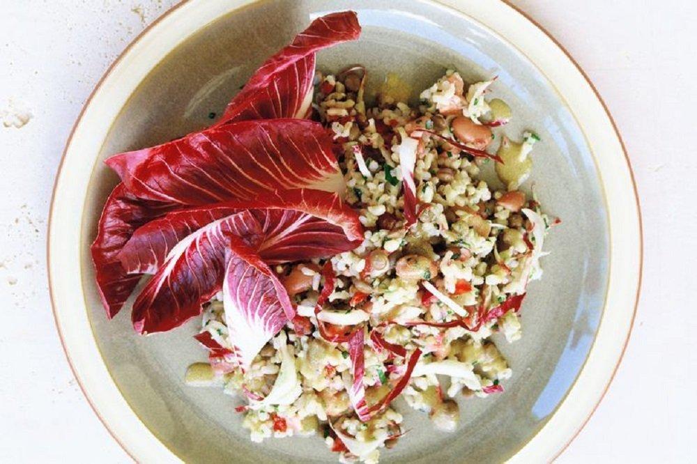 Lentil and Brown Rice Salad