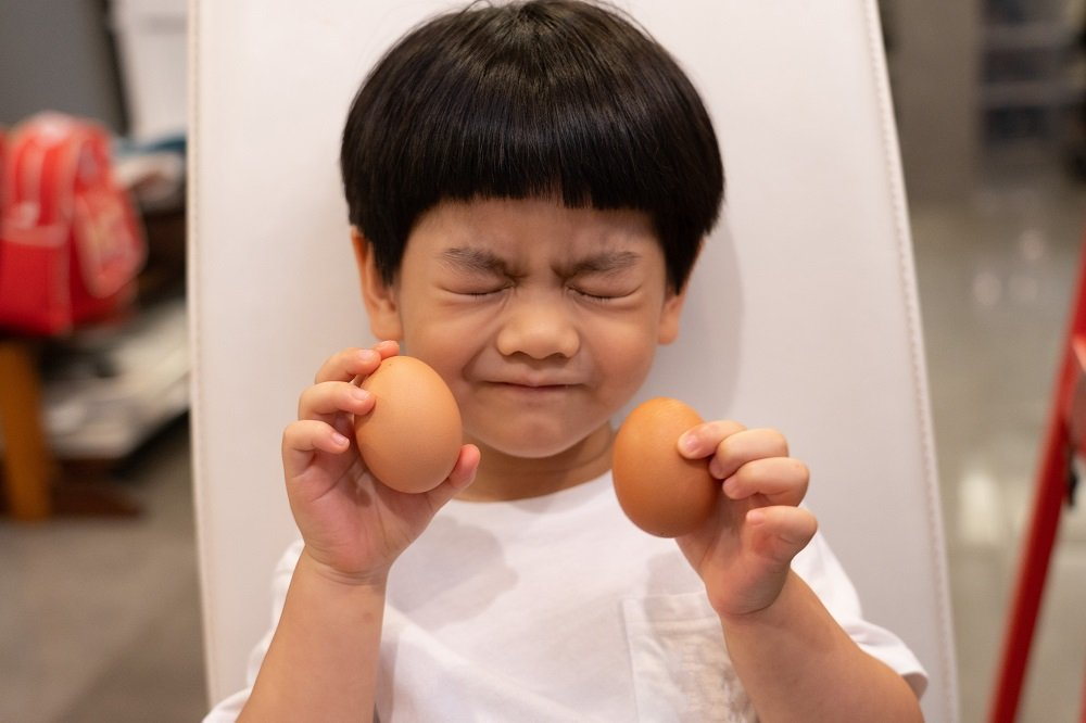 Eggs for the nutrition babies need for brain development