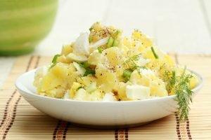 Heart healthy potato salad
