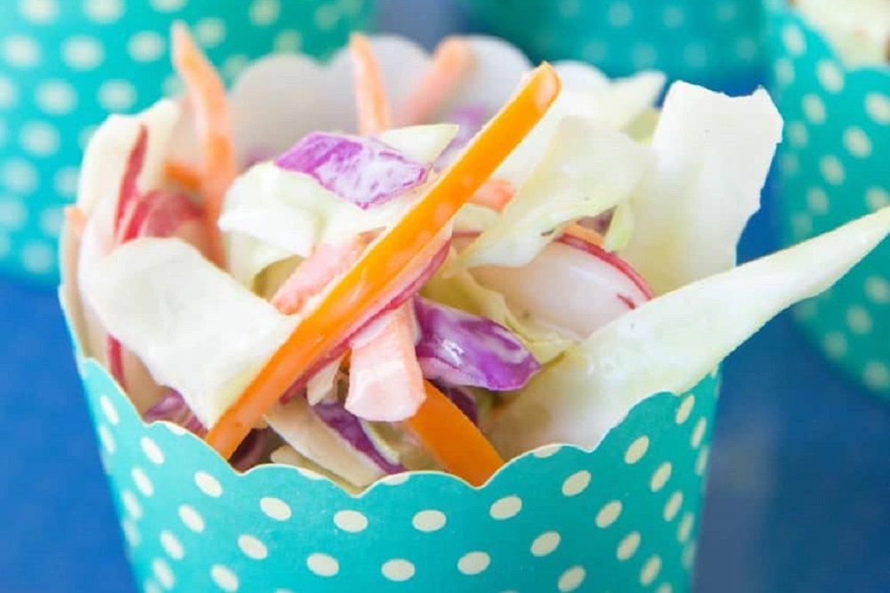 Crunchy Colorful Coleslaw Recipe