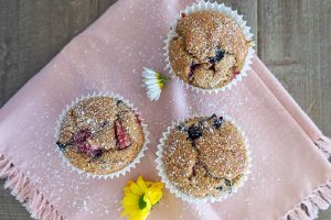 berry muffins for breakfast